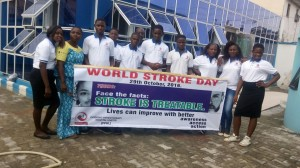 Island Physio-Fit staff rally on Stroke